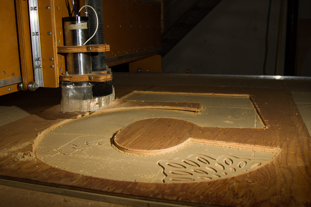 ... CNC router and has used it for many projects including YuKonstruct's